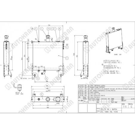 Wkład filtra radiowy HIAB - 9802347, radiodrive, Hi-drive