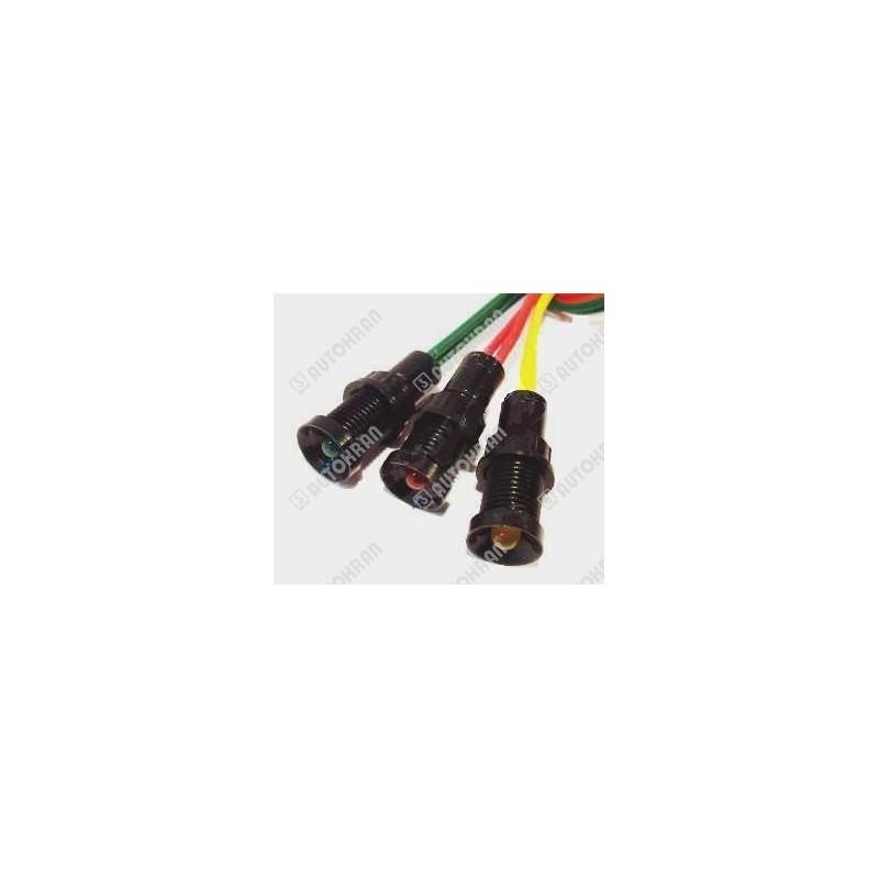 Kontrolka diodowa 24VDC dwukolorowa, zielonoczerwona