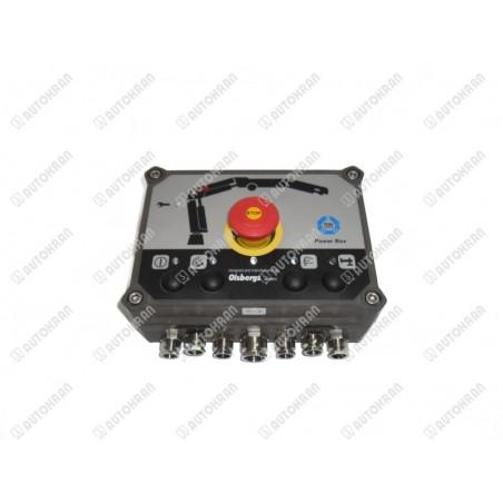 Odłącznik prądu 24V - hebel  z czerwonym kluczykiem MAN